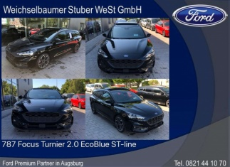 Ford Focus 787 Focus Turnier 2.0 EcoBlue ST-line Topzustand