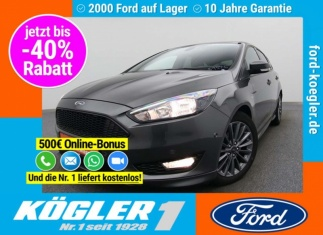 Ford Focus ST-Line 140PS/Winter-P./Business-P./Navi