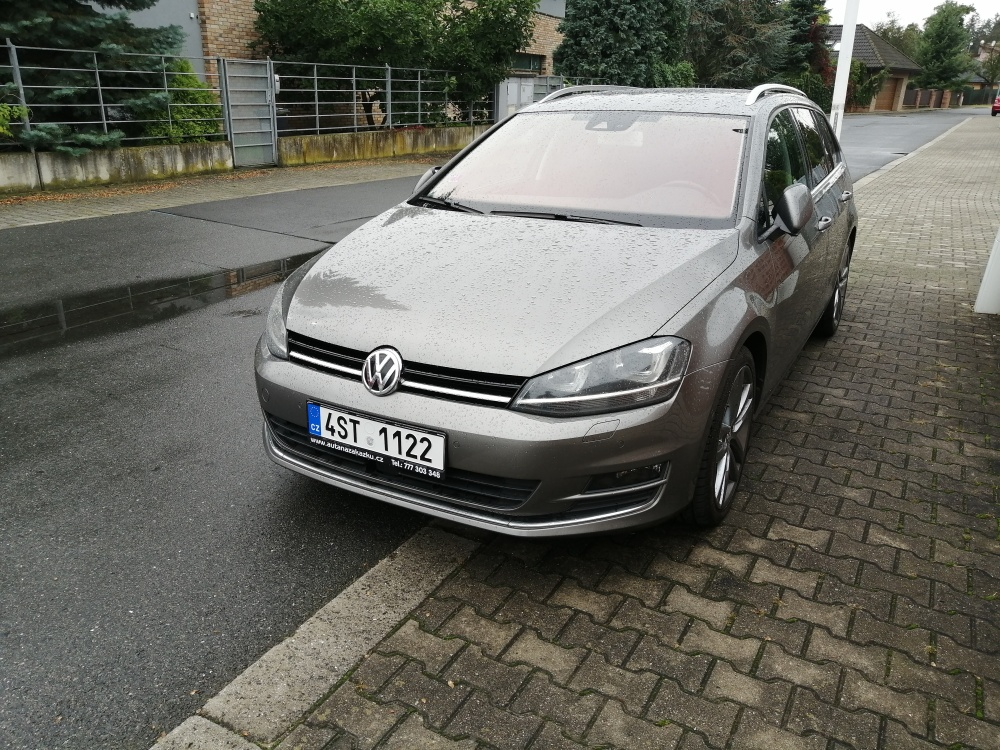 Reference Volkswagen Golf VII
